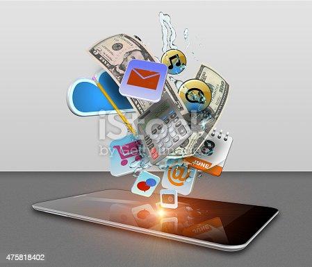 istock Smart phone media 475818402