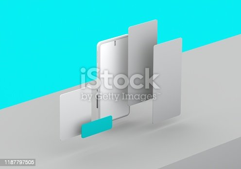 474953508 istock photo Smart phone mock-up 1187797505