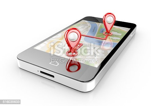 1151956281 istock photo smart phone navigation 516035633