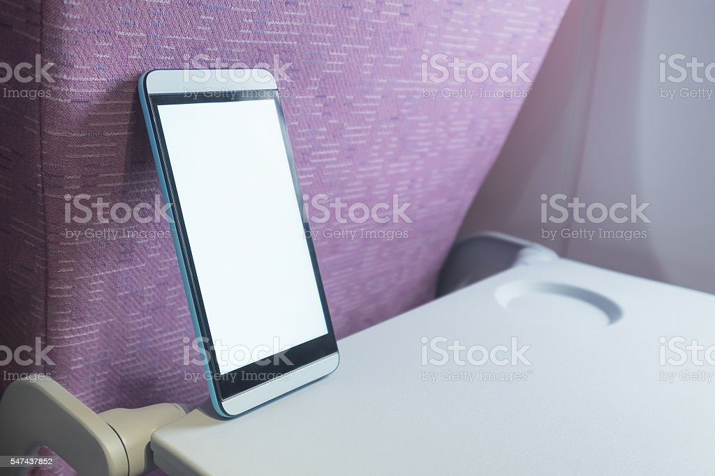 smart phone on air cabin - Photo