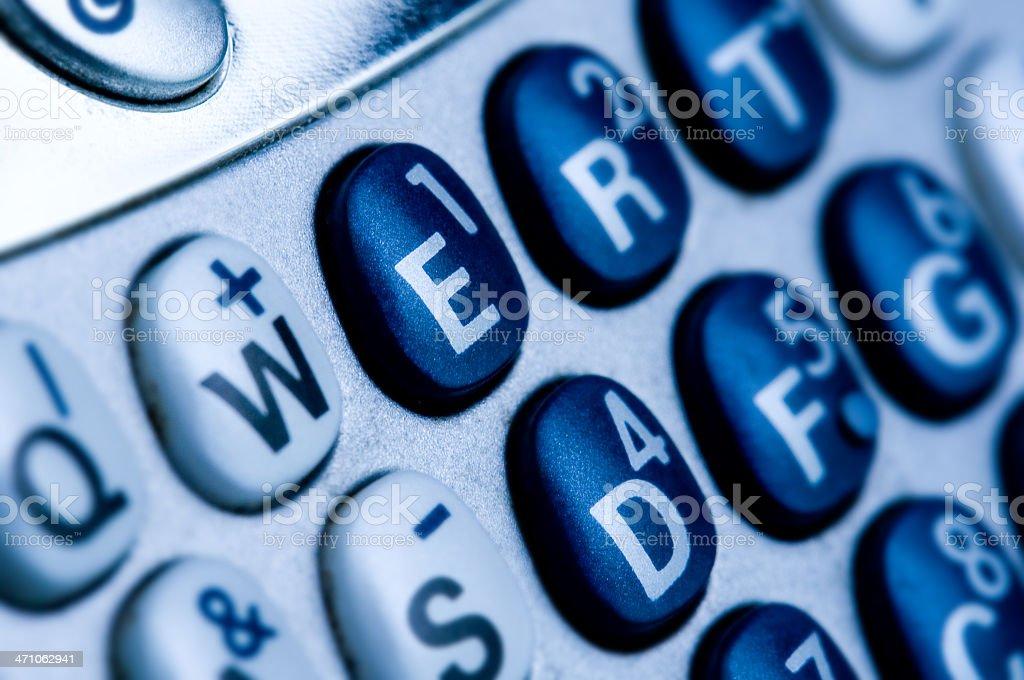 Smart Phone Palm Treo royalty-free stock photo