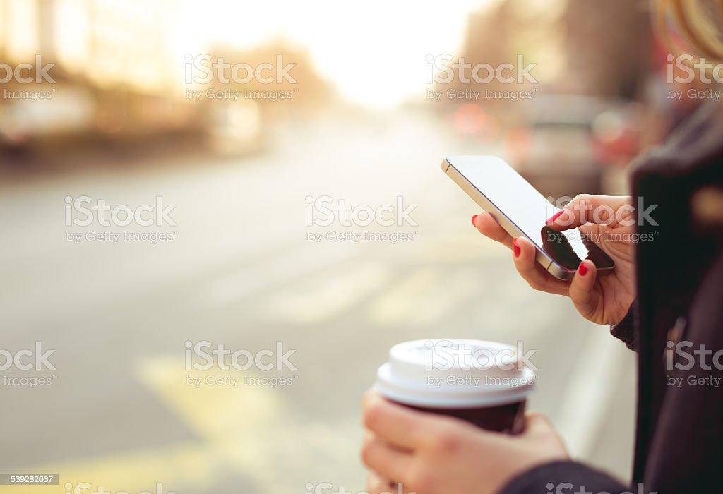 Teléfono inteligente  - foto de stock