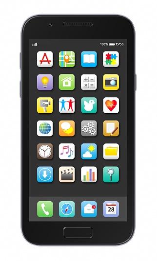 Teléfono Inteligente Foto de stock y más banco de imágenes de Aplicación para móviles