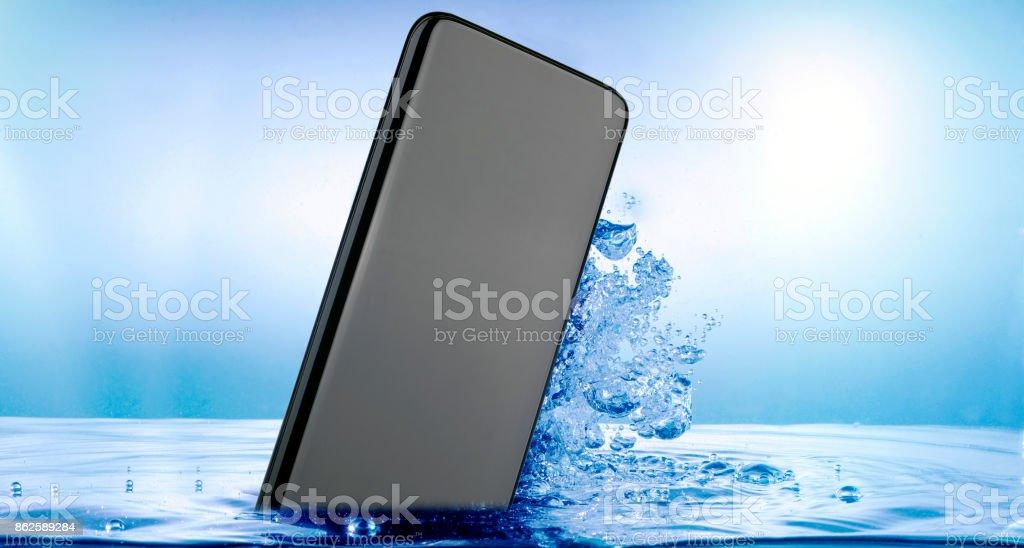 Smart Phone waterproof stock photo