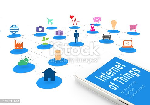 1155191162 istock photo Smart phone with Internet of things (IoT) word and icon 479741666