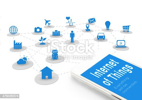 1155191162 istock photo Smart phone with Internet of things (IoT) word and objects 479435374