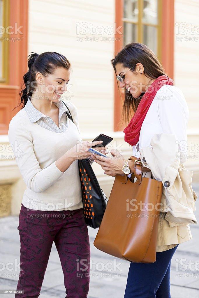 Smart phones royalty-free stock photo