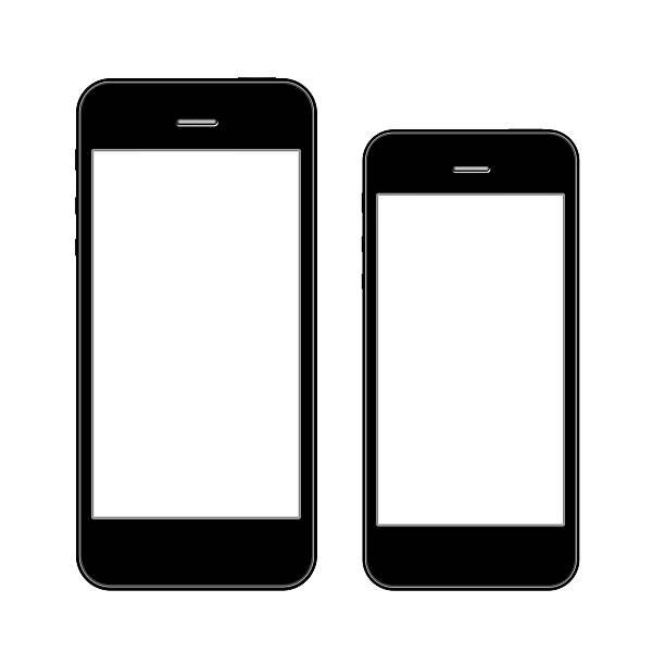 Smart phones stock photo