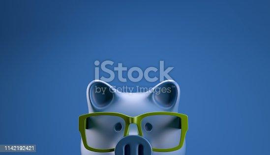 istock Smart Piggybank 1142192421