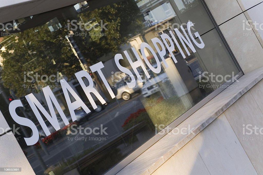smart  shopping stock photo