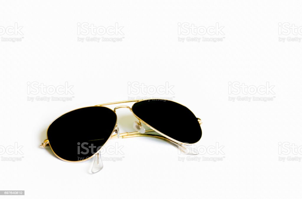 smart sun glasses for protect sunlight stock photo