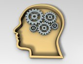 istock smart thinking concept with face silhouette 466011255