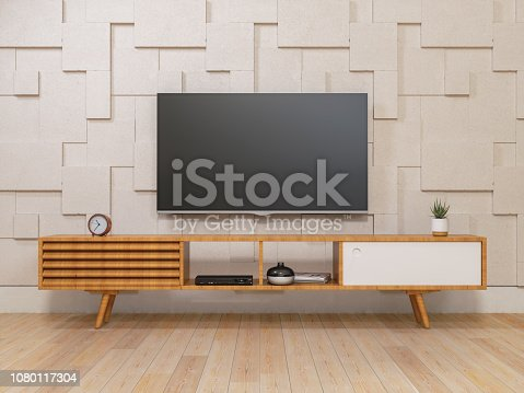 Smart Tv on TV stand