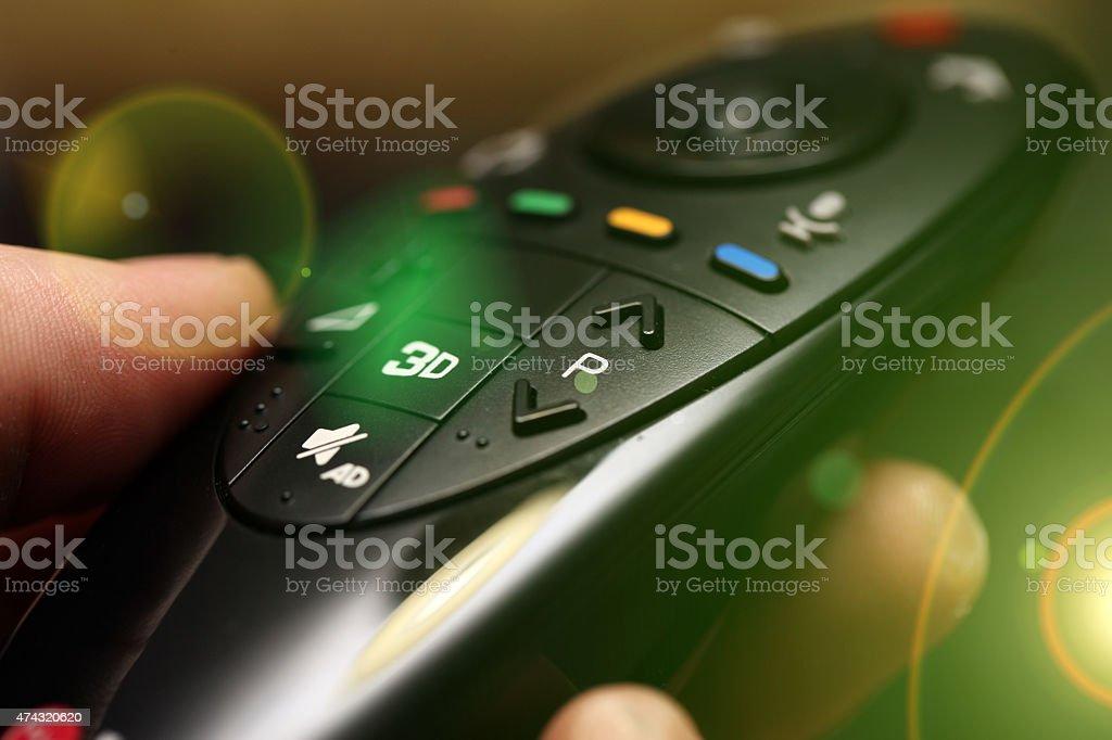 Smart Tv Remote Control stock photo