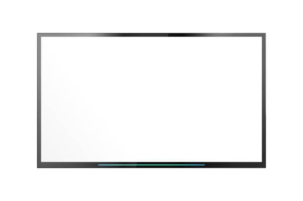 Smart TV Screen stock photo
