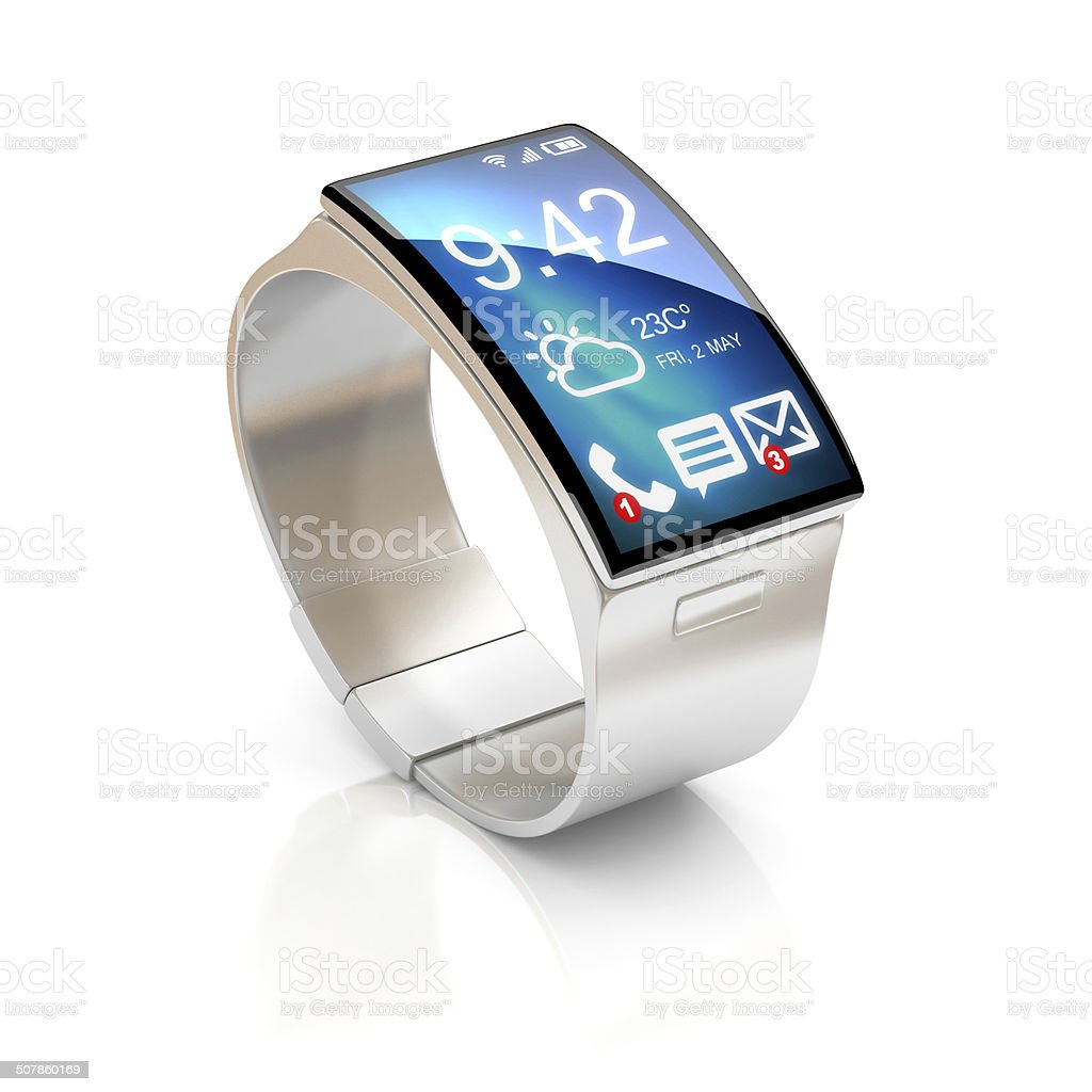 smart watch 3d illustration stock photo