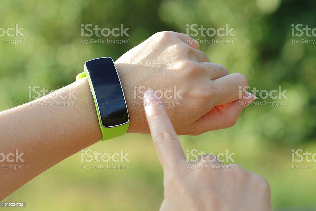 Reloj inteligente - Foto de stock de Adulto libre de derechos