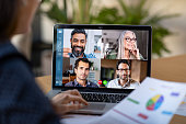 istock Smart working and video conference 1213470229
