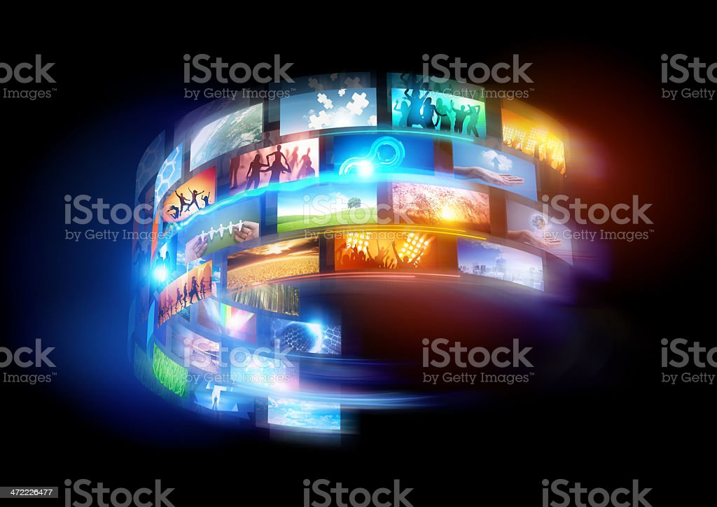 Smart World - Royalty-free Arts Culture and Entertainment Stock Photo