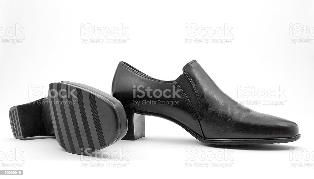 Smartlooking new shoes stock photo