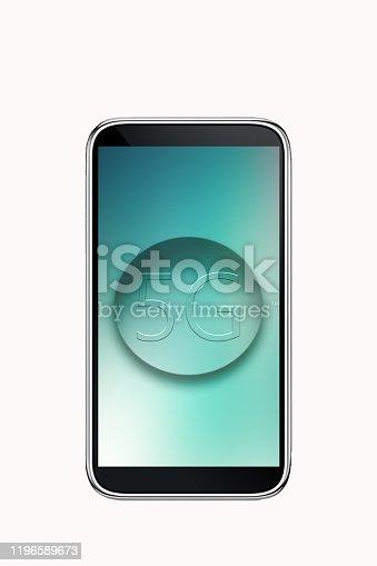 623982946istockphoto Smartphone 5G 1196589673