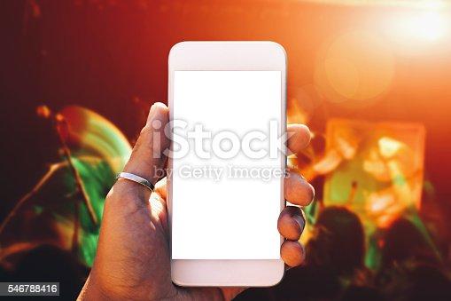 Smartphone - Backgrund live music
