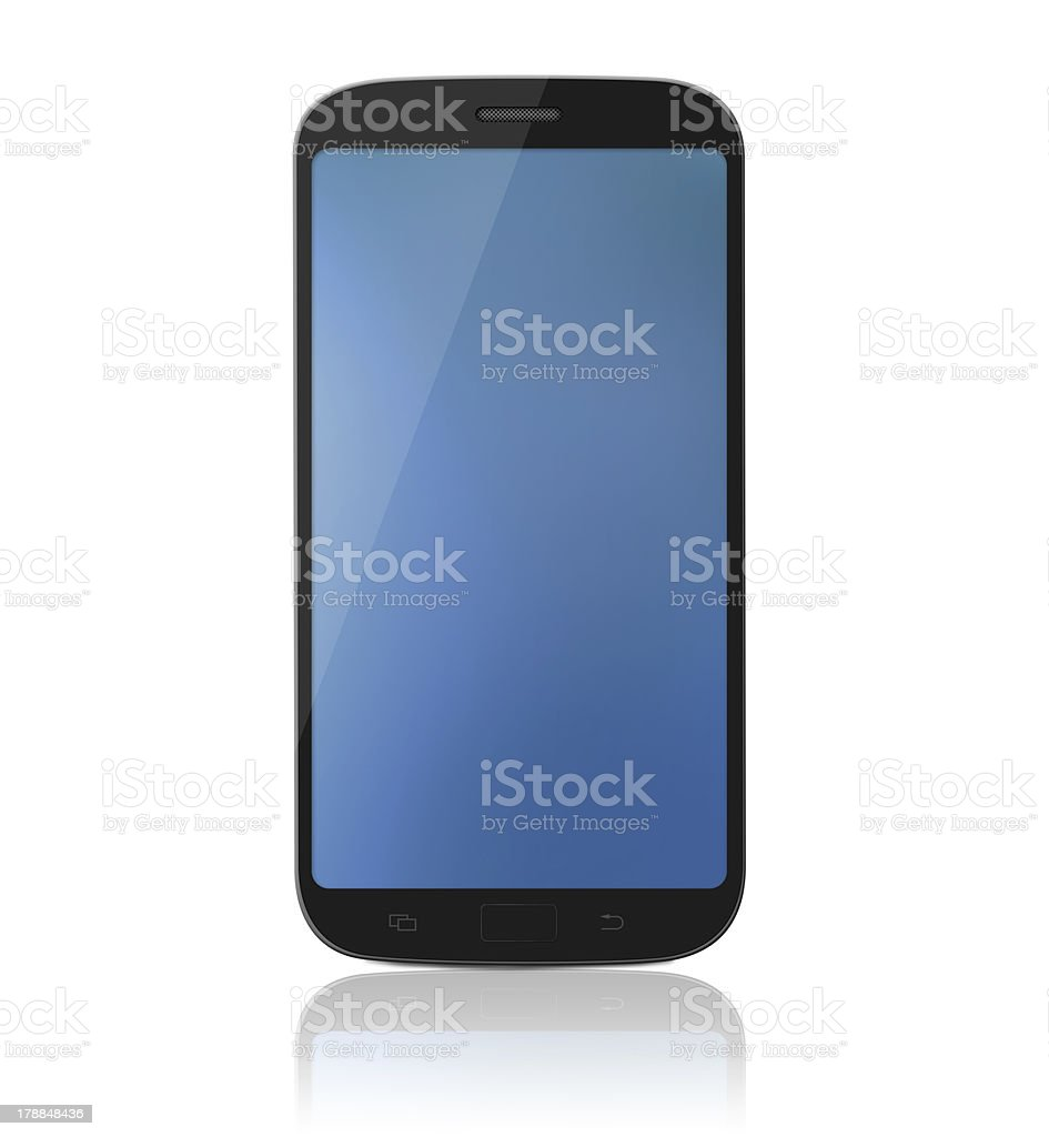 Smartphone / Cell phone  - XL royalty-free stock photo