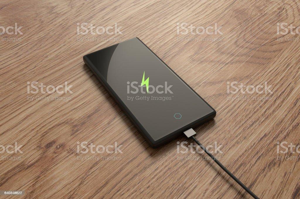 Smartphone Charging. – Foto