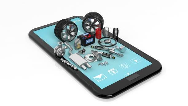 스마트폰 컨셉입니다 - 예비 부품 뉴스 사진 이미지