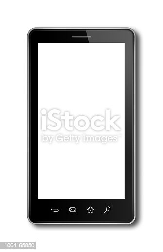 1161116588istockphoto smartphone, digital tablet pc template isolated on white 1004165850