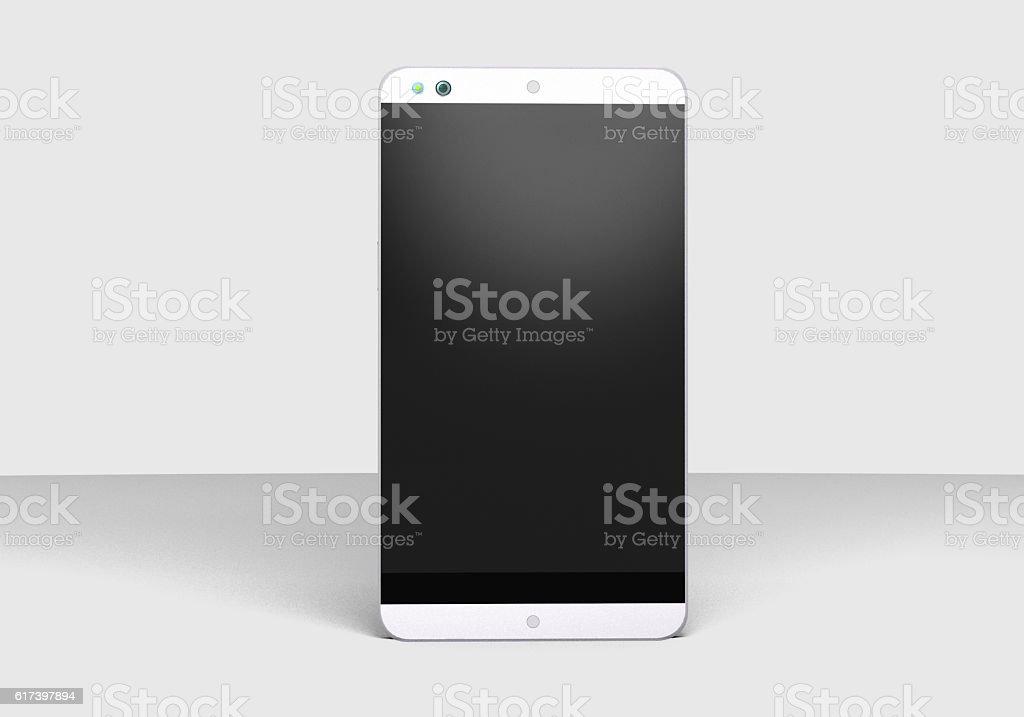 Smartphone front stock photo