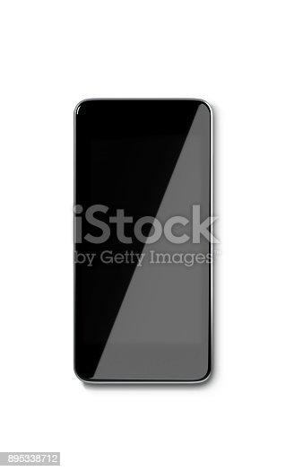 1161116588istockphoto Smartphone Isolated On White Background 895338712