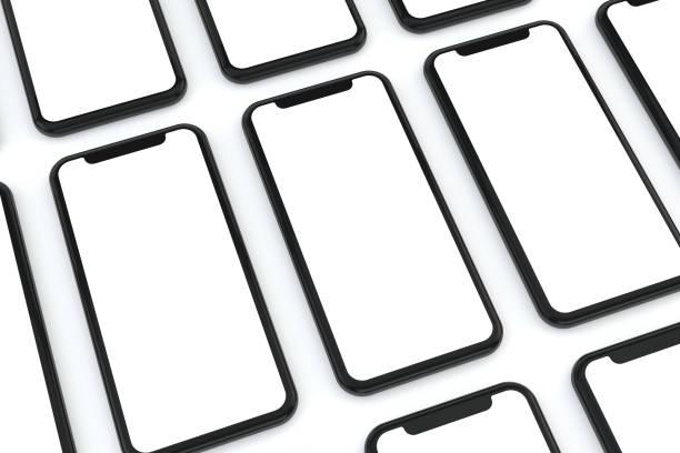 Smartphone-Mobile Anwendung Präsentation Mockup – Foto