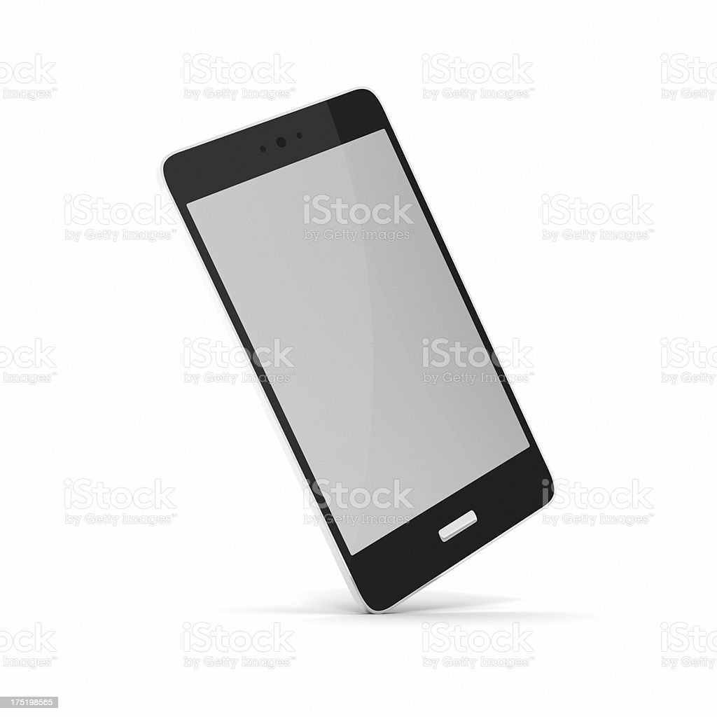 Smartphone on White XL stock photo