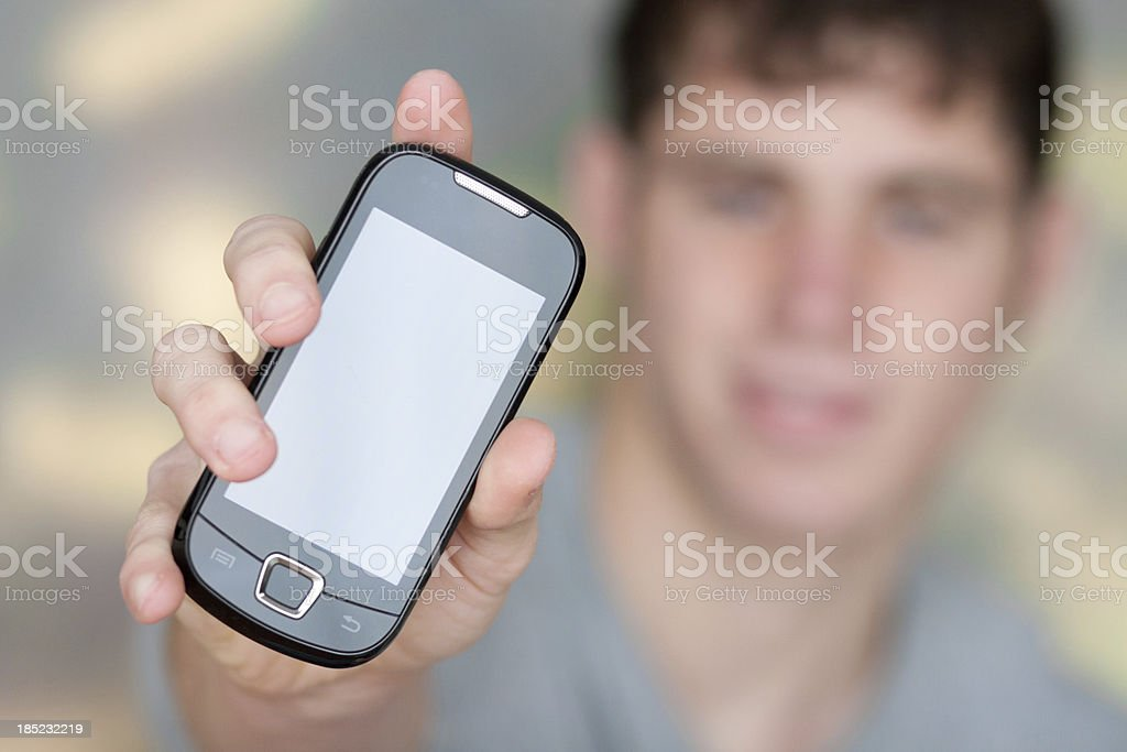 Smartphone royalty-free stock photo