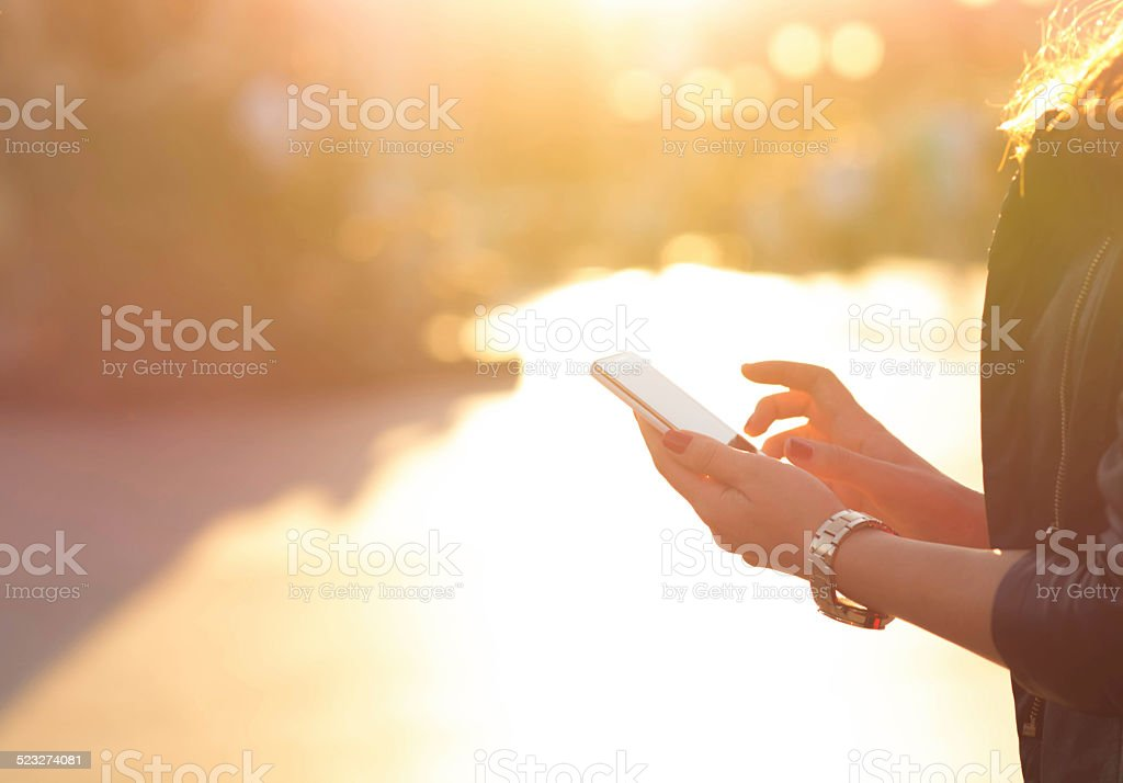Smartphone stock photo