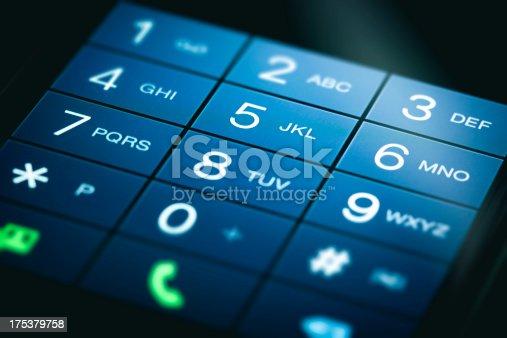 Phone Touchscreen Keypad