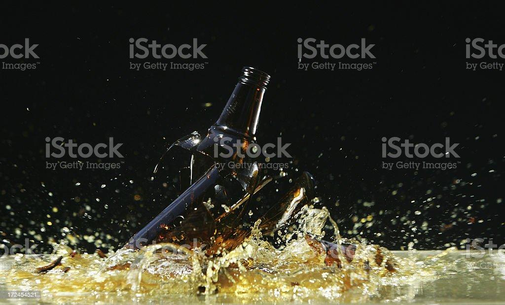 Hammer-Bier in der Flasche – Foto