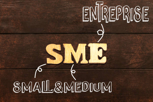 sme ( small and medium entreprise ) composed from wooden letters sme ( small and medium entreprise ) composed from wooden letters entreprise stock pictures, royalty-free photos & images