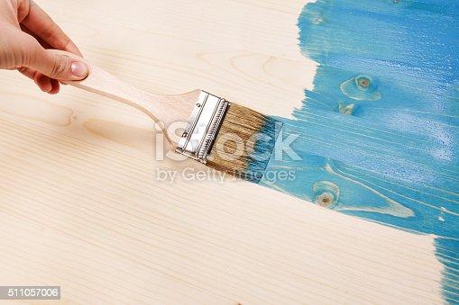 istock Smear of paint brush 511057006