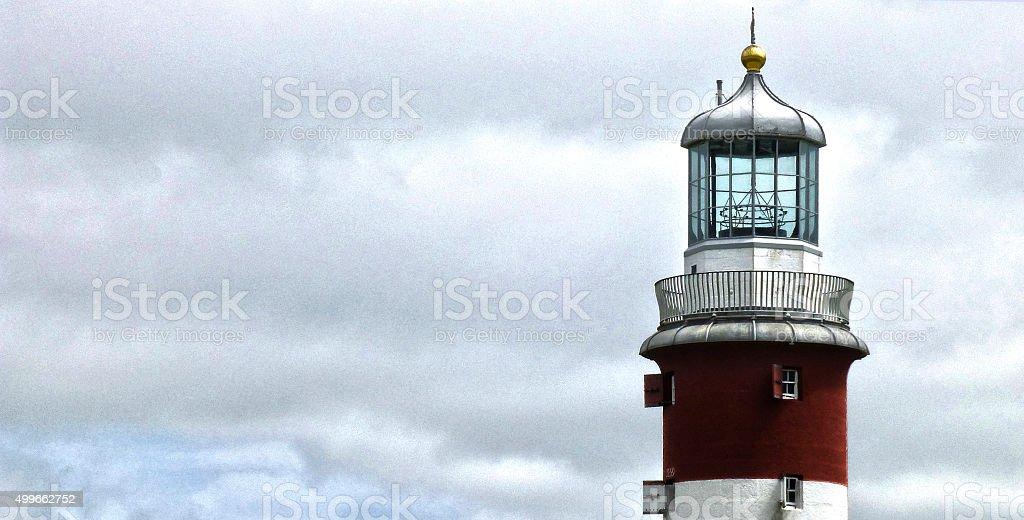 Smeaton lighthouse stock photo