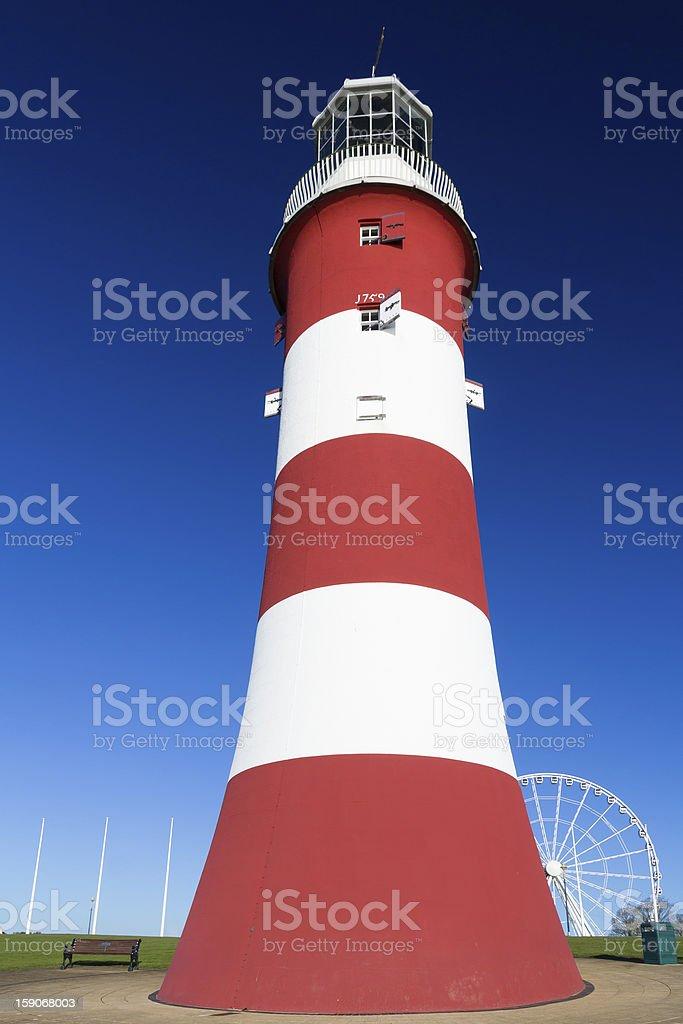 Smeaton Tower Plymouth stock photo