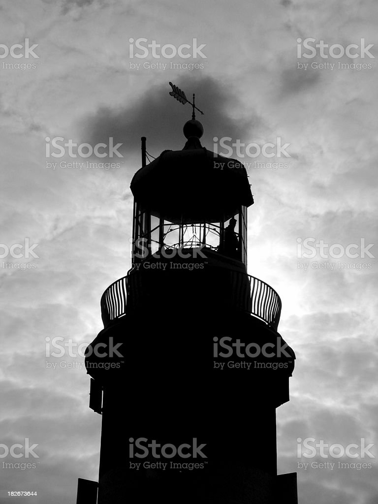 smeatons tower lighthouse stock photo