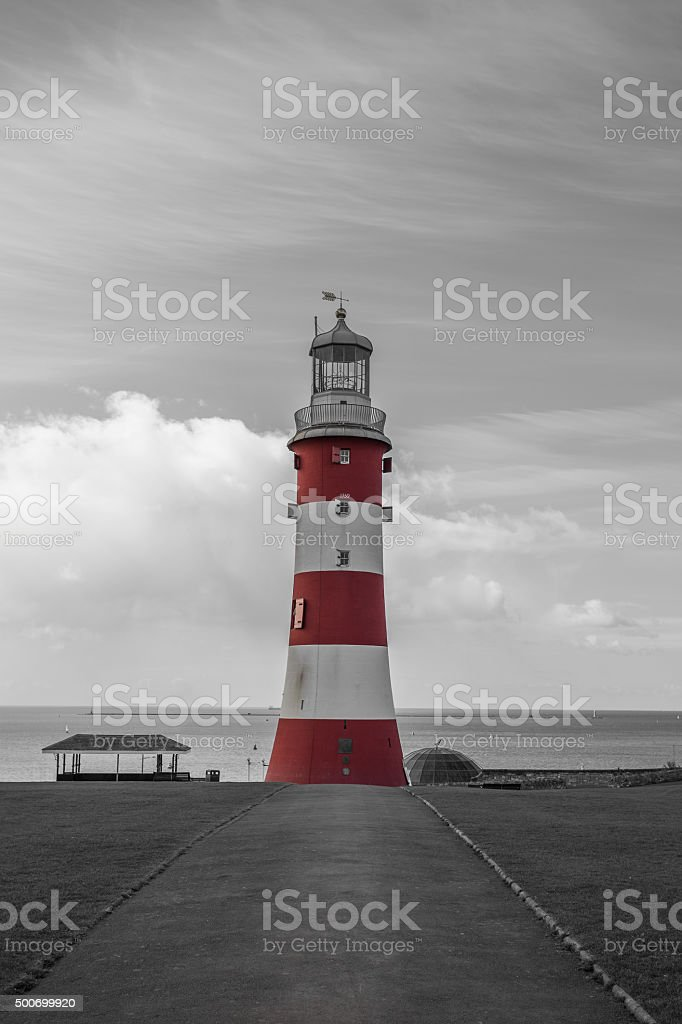 Smeatons Tower stock photo