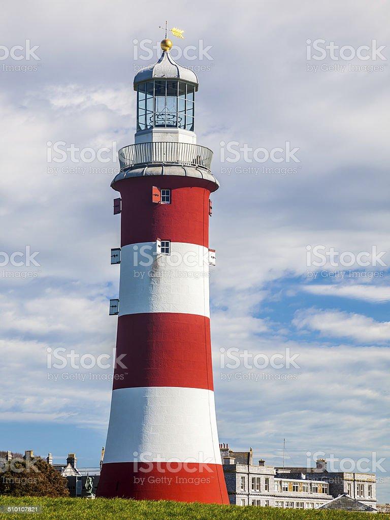 Smeatons Tower Plymouth Devon stock photo