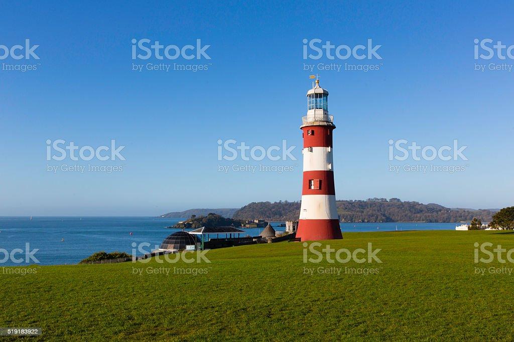 Smeaton's Tower - Plymouth stock photo