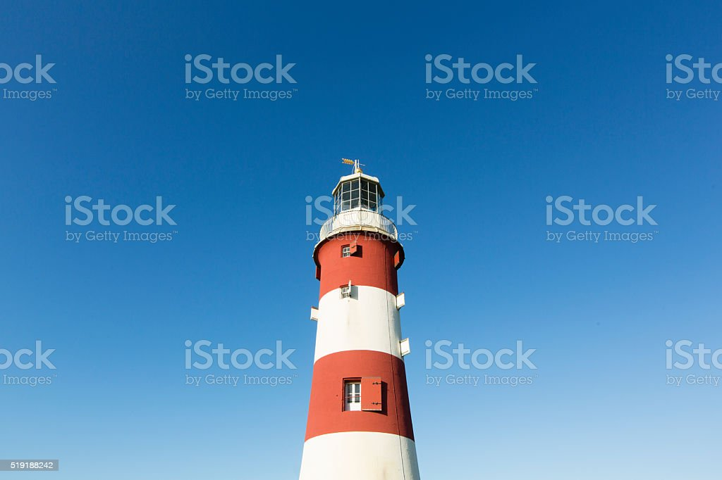 Smeaton's Tower -Plymouth stock photo