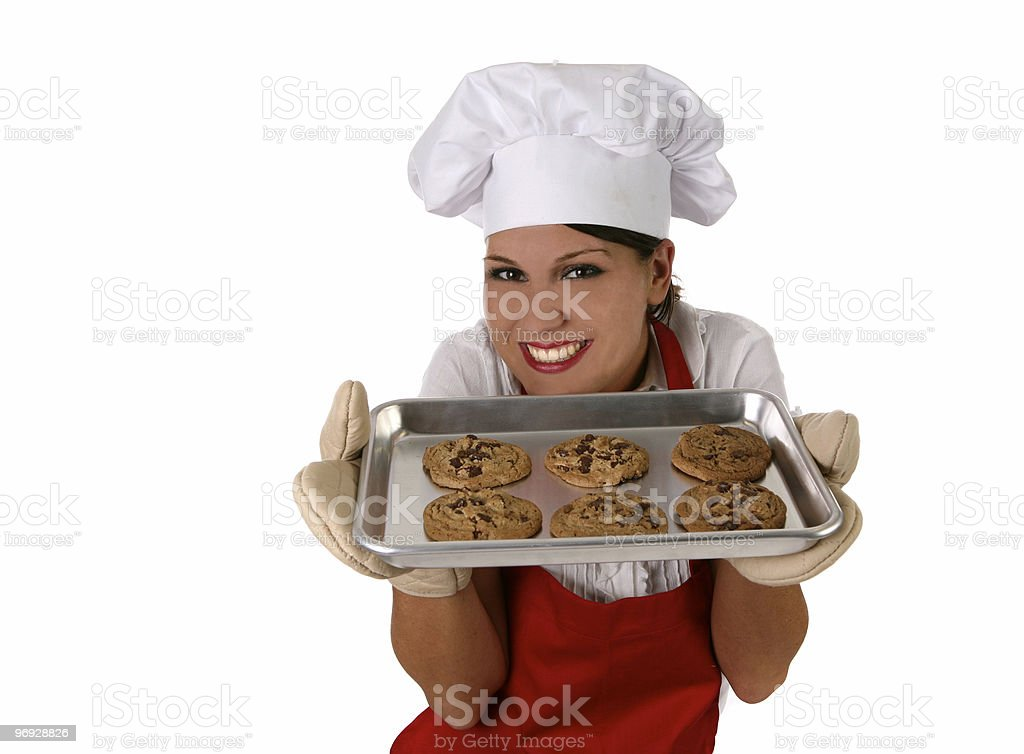 Smell Those Cookies royalty-free stock photo