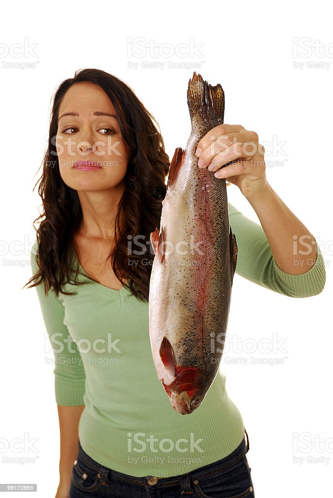 Smelly fish royalty-free stock photo