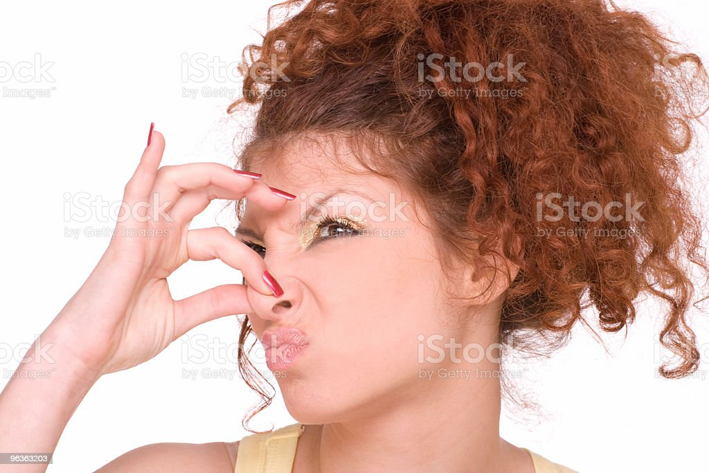 Smelly royalty-free stock photo